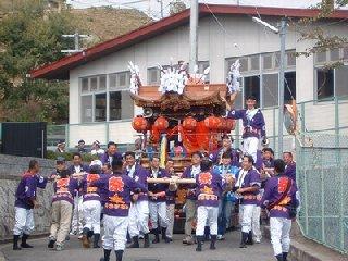 奈良県生駒郡三郷町 坂根地区の秋祭り